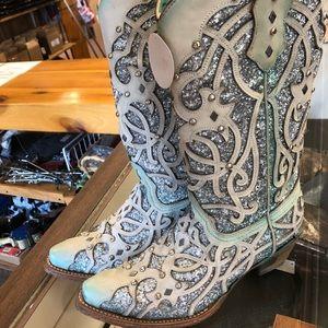 Ladies corral 6.5M Chameleon boots c3377 NWT
